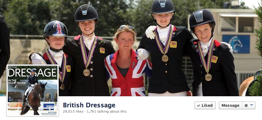 British Dressage Chef d\'Equip uses Hack Up Bespoke