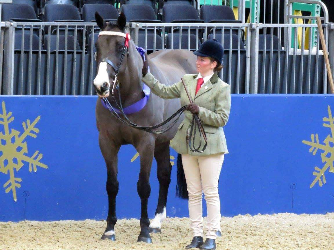 Dawn Noble cherishes her time at Olympia, her Bespoke being crucial!