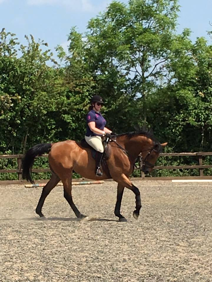 Bespoke helps Blake go from unrideable to going out for our first dressage test