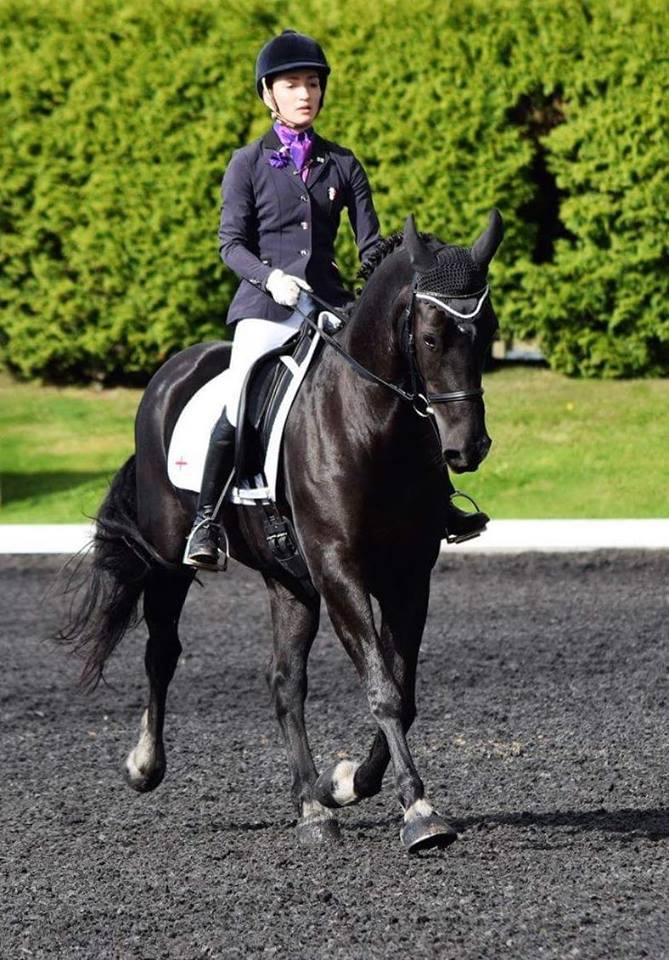 Dressage Success for Ruth and Seren