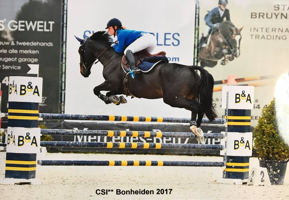 Rosie Bell and Cadwallader (Wally) show improved form
