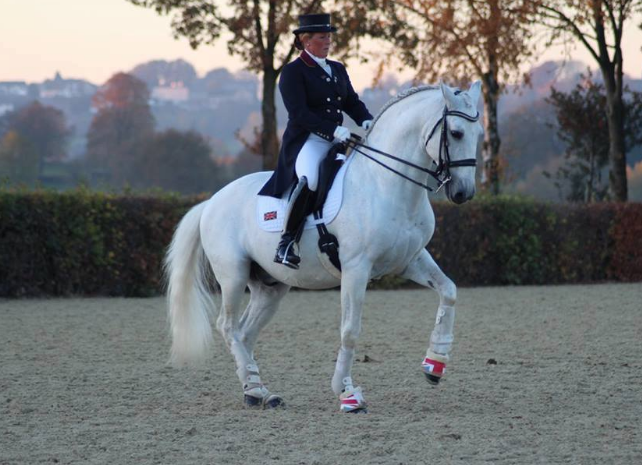 Justine Armitage, GP competitor and trainer benefits from bespoke!