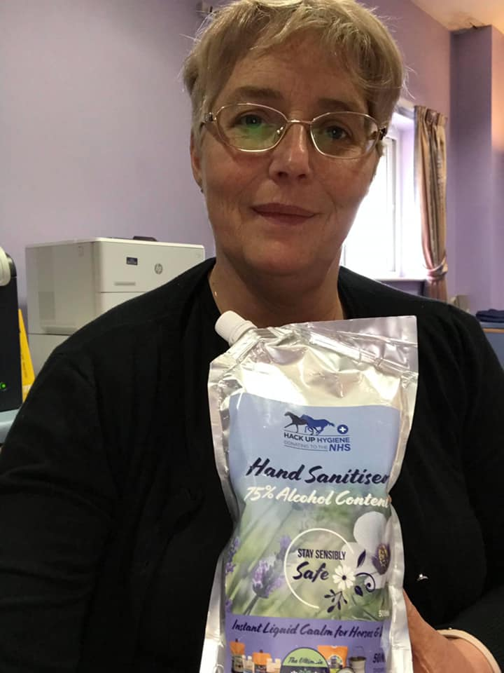 NHS Nurse Loving Hack Up Hand Sanitiser