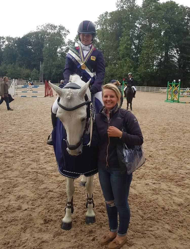 Ellie Healy goes for GOLD! The perfect equine fairytale.
