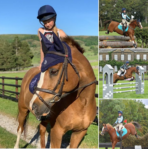 Malin Hewins's ex-international eventing pony thrives on Hack Up Bespoke formula.