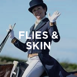 Equine flies and skin supplement