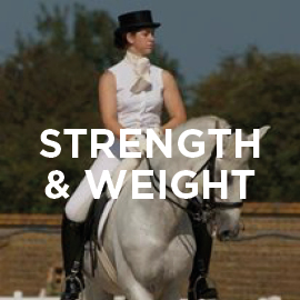 Equine strength and weight supplement