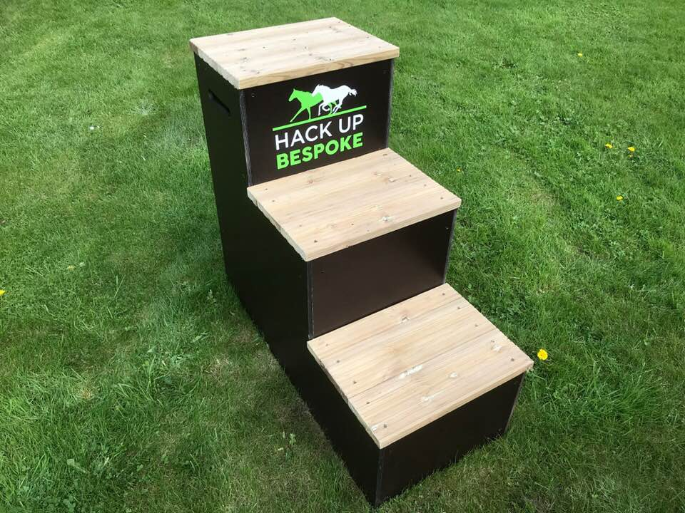 Win a 3 STEPPED Mounting Block!!!