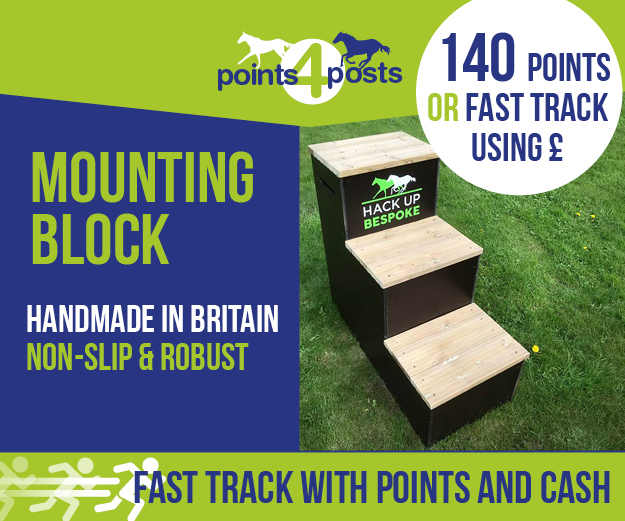 Tall 3 step mounting block