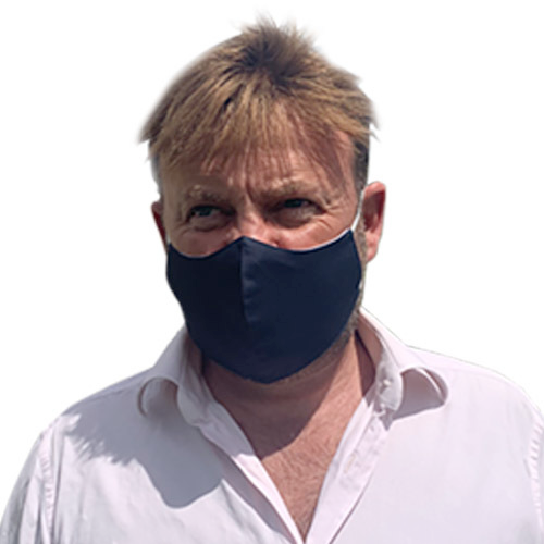 Hack Up Bespoke Nanotech Washable Mens Facemask